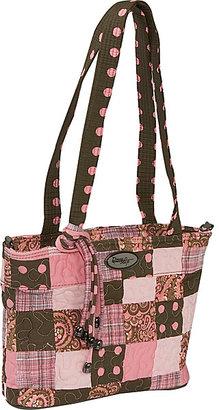 Donna Sharp Jenna Bag Mocha Patch
