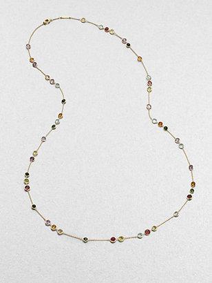 Marco Bicego Semi-Precious Multi-Stone Long Station Necklace