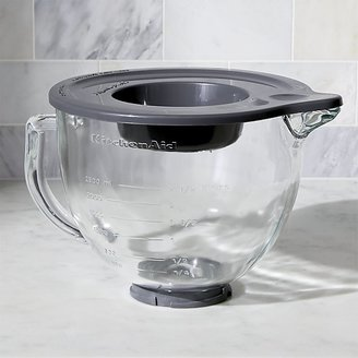 Crate & Barrel KitchenAid ® Stand Mixer Glass Mixer Bowl