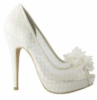 Menbur Wedding Women's Adelia Ivory Bridal 04635X104 7.5 UK