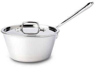 All-Clad Stainless Steel 2.5 Quart Windsor Pan with Lid