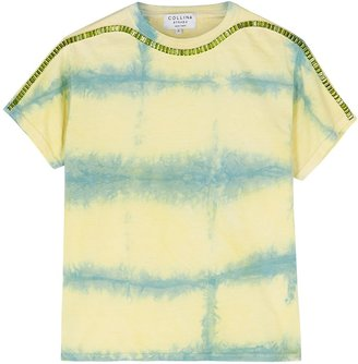 Collina Strada Sporty Spice Tie-dyed Cotton T-shirt