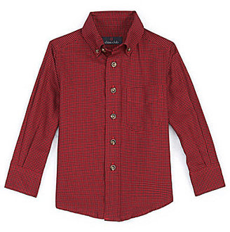 Class Club 2T-7 Gingham Woven Shirt
