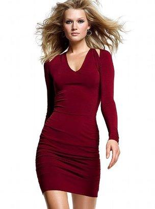 Victoria's Secret Long-sleeve Cut-out Dress
