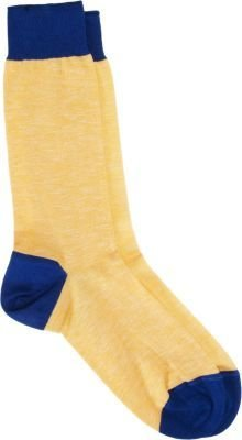 Barneys New York Heathered Mid-Calf Socks