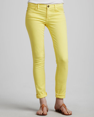 Current/Elliott The Rolled Skinny, Canary Yellow