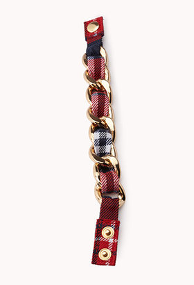 Forever 21 Edgy Curb Chain Bracelet