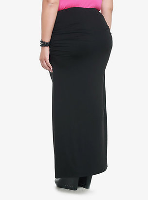 Torrid Ruched Maxi Skirt