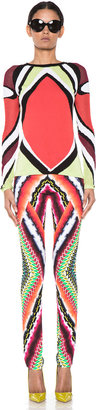 Peter Pilotto S-Pullover in Orange