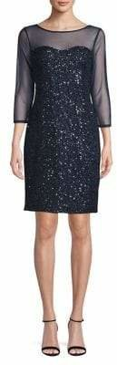 Karl Lagerfeld Paris Sequin Shift Dress
