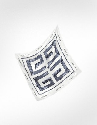 Givenchy Star Logo Silk Square Scarf