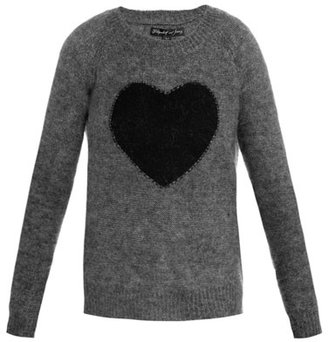 """Elizabeth and James [a href=""""/womens/elizabeth-and-james a] Heart intarsia-knit sweater"""