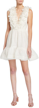 Zimmermann The Lovestruck Garland Mini Dress