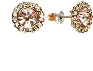 LC Lauren Conrad Button Stud Earrings $12 thestylecure.com