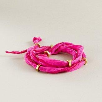 J.Crew Bhati Beads Silk Planets bracelet