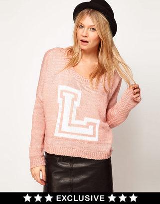 Love Letterman Sweater