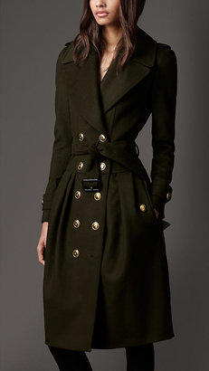 Burberry Wool Cashmere Coat