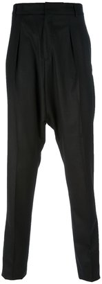 Givenchy drop crotch trouser