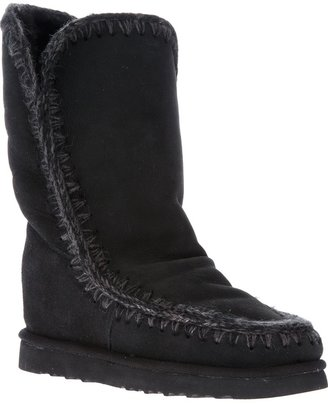 Mou 'Eskimo' inner wedge tall boot