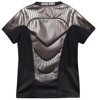 Nike Black Pro Hypercool Graphic Baselayer Top