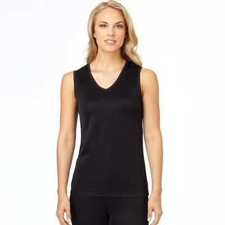 Cuddl Duds softwear with lace edge tank - women's plus