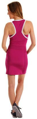 Lacoste Sleeveless Technical Jersey Tennis Dress w/ Mesh Detail
