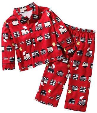 Jumping beans train pajama set - toddler