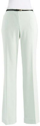 Calvin Klein Pleated Trousers with Belt