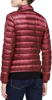 Moncler Zip-Up Puffer Jacket, Fuchsia