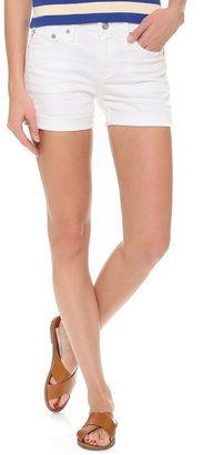 AG Hailey Ex Boyfriend Cuffed Shorts $148 thestylecure.com