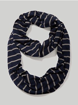 New York & Co. Montauk Striped Infinity Scarf