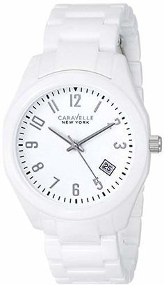 Caravelle New York by Bulova Women's 45M107 Ceramic Watch $84.94 thestylecure.com