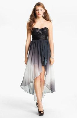 Speechless Embellished High/Low Dress (Juniors)