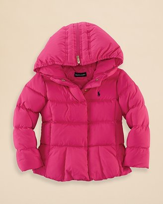 Ralph Lauren Girls' Down Coat - Sizes 2-6X