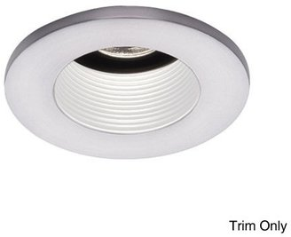 W.A.C. Lighting 3 Inch Preminum Low Voltage Basic Baffle Trim - 25° Adjustment from Vertical - HR-D324