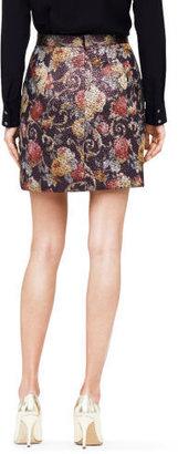 Club Monaco Claudia Brocade Skirt