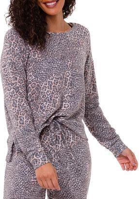 Onzie High-Low Animal-Print Sweatshirt