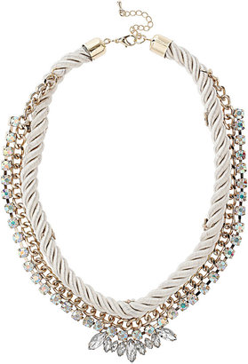 Topshop Rope and Rhinestone Collar