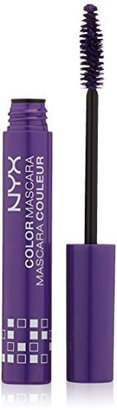 NYX Cosmetics Color Mascara, Purple, 0.32 Ounce $7 thestylecure.com