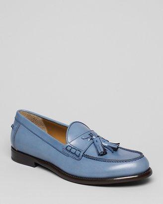 Salvatore Ferragamo Treviso Leather Tassel Loafers