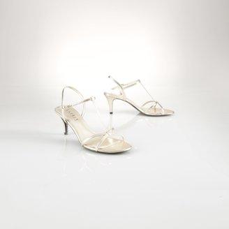 Ralph Lauren Nyah Metallic Sandal