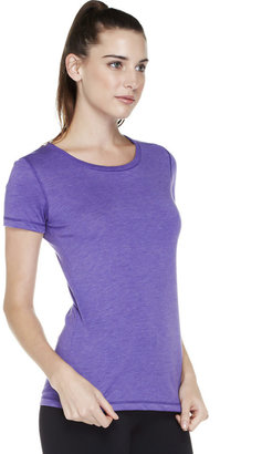 Alo Activewear Short Sleeve Stitched Crew Neck Tee