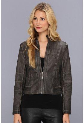 Brigitte Bailey Kaya Jacket (Charcoal) - Apparel