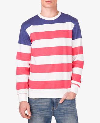 Forever 21 21 MEN Striped French Terry Pullover