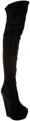 Casadei fitted thigh high boot