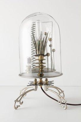 Anthropologie Kerplunk Bell Jar Lamp