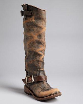 Freebird by Steven Tall Scrunched Shaft Flat Boots - Contra