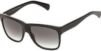 Alexander McQueen flat top sunglasses