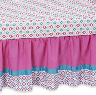 Caden Lane Lila Crib Skirt