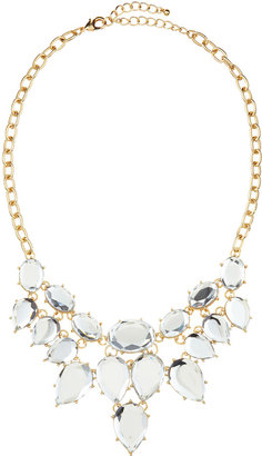 Fragments for Neiman Marcus Multi-Stone Clear Bib Necklace